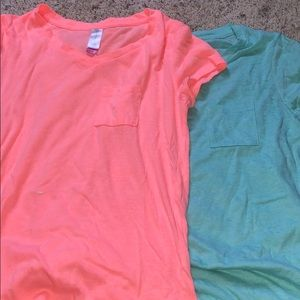 Two Shirts V-Neck Style
